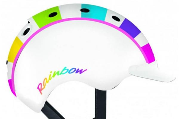 Helm Casco Mini Rainbow