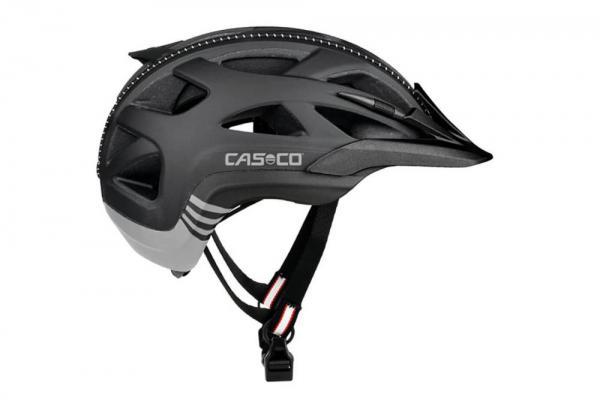 Helm Casco Activ 2 schwarz/weiss