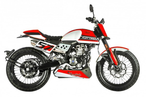Mondial Flat-Track 125 ABS